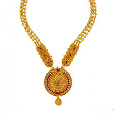 red stones gold necklace images Fancy red stone golden shahihaar parmar jewellersparmar jewellers jpg