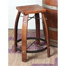 Backless Counter Stool Leather Kitchen Short Bar Stools Leather Bar Stools Wooden Bar Stools
