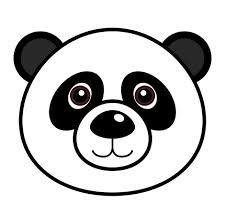 lovely design bear face coloring page panda bear coloring pages