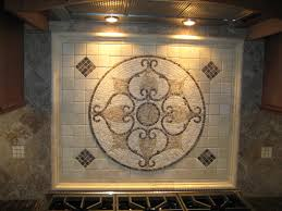 Kitchen Medallion Backsplash Kitchen Backsplash Medallion Shower Inserts Subway Tile With