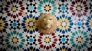 Moroccan Pattern Art Moroccan Wall by Free Images Floor Decoration Pattern Line Geometric