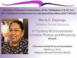 themes in literature in the 21st century literature educators association of the philippines leap inc