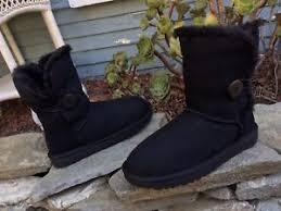 s waterproof winter boots australia 165 ugg australia bailey button ii black suede waterproof winter