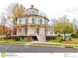 rich twinn octagon house stock photo image 69795220
