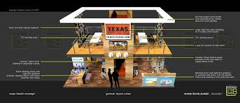 Texas travel cubes images Texas tourism exhibition booth designs world travel market wtm jpg