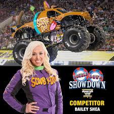 monster truck show boston bailey shea bayshea48 twitter