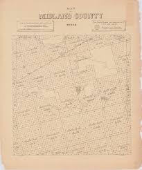 Midland Texas Map Map Of Midland County Texas The Portal To Texas History
