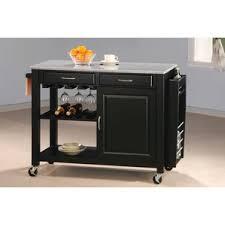 kitchen island cart granite top granite kitchen islands carts you ll wayfair