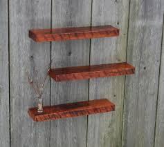 Decorative Wooden Shelf Edging Strikingly Design Cherry Floating Shelves Astonishing Decoration