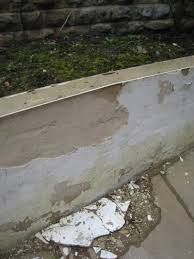blown rendered wall paint flaking diynot forums