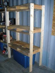 Wood Storage Shelf Designs by Best 25 Pallet Shelving Ideas On Pinterest Pallet Shelves