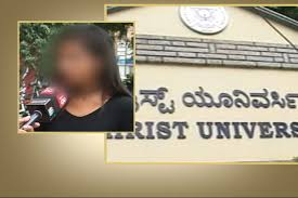 students against dress code in bengaluru christ university news18