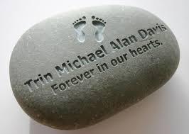 engraved memorial stones custom engraved memorial grave marker river rock