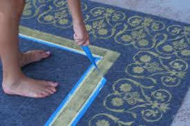 Make Your Own Outdoor Rug Such A Tutorial On Your Own Outside Rug Patio