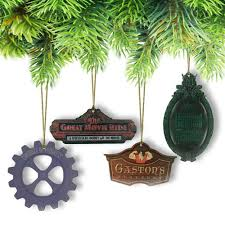 trim the tree with disney attractions ornaments