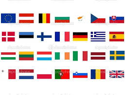 Flags Of The Wrld Depositphotos European Flags Flags Of Europe With World Flags
