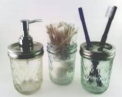 Bathroom Jars With Lids Oil Rubbed Bronze Mason Jar Bath Set Lids Only Ball Jar Bath