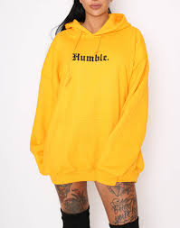yellow sweater cult humble yellow unisex hoodie