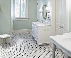 1 black and white hexagon rosette pattern ceramic mosaics