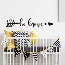 Removable Wall Decals Nursery by Be Brave Wall Decal Arrow Wall Decal Removable Wall Decals