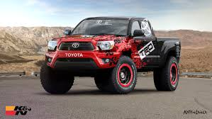 widebody toyota truck matthew law automotive design consultancy