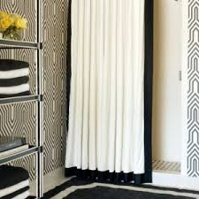 Cowhide Shower Curtain Black And Ivory Shower Curtain Shower Curtain Rod