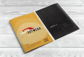 bi fold product catalog i creative indesign brochure template by