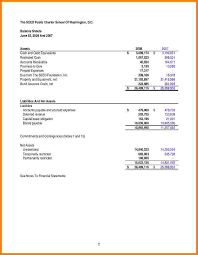 sample statement income statement sample financial