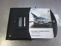 owners manual booklet set u0026 black leather case oem bmw 750i 750li