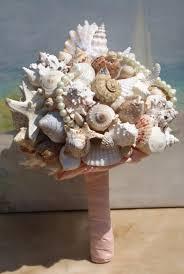 wedding bouquets with seashells seashell wedding bouquet