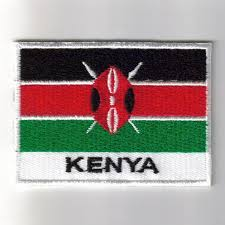 Flag Of Kenya Embroidered Patches Country Flag Kenya Patches Iron On Badges