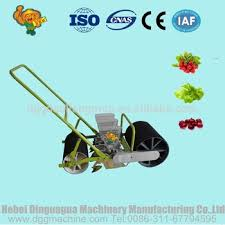 Garden Seed Planter by Hand Push Garden Seeder For Vegetables Onion Grass Seed Planter
