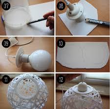 Wohnzimmer Lampe Anleitung Diy Wie Du Eine Faden Lampe Perfekt Rund Hinbekommst