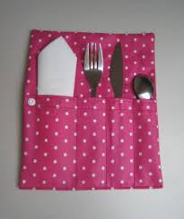 couture accessoire cuisine range couverts pour lunch bag