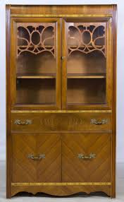 antique hutch with glass doors 33 best vintage china cabinets images on pinterest china