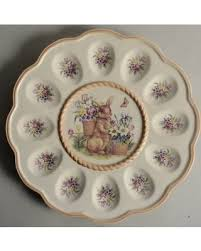 deviled egg plate big deal on cracker barrel easter treasures deviled egg plate