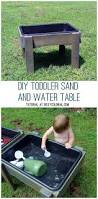 diy toddler water table from recycled wood the backyard just