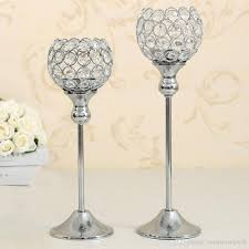 christmas decoration crystal candle holders wedding party supplies