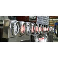 4 inch round led lights underslung light bar 13 x 4 inch round led lights truckerstoystore