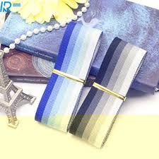 dyed ribbon aliexpress buy 38mm 3 8cm hight quality gradient stripes dyed