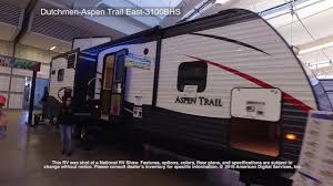 dutchmen aspen trail east 3100bhs youtube