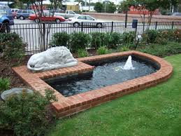 exterior specialty water feature backyard water features