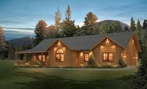 Two Story Log Homes by Plans