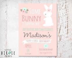 rabbit invitation easter bunny rabbit invitation bunny birthday invitation designs