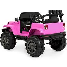 jeep girls amazon com best choice products 12v ride on car truck w remote