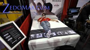 vivon prestige 2 vibrating massage memory foam mattress at ces