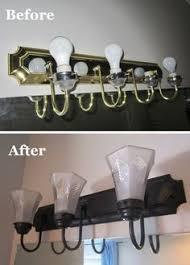 Painting Bathroom Fixtures Diy Bathroom Fixtures 2 Coats Gray Primer Spray Paint Then 3 4
