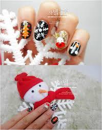 cool easy christmas nail designs