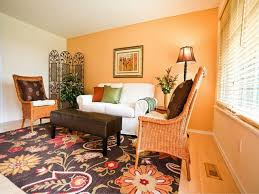endearing 60 orange paint for living room walls inspiration
