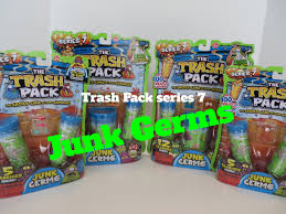 trash pack junk germs series 7 trashies huge review opening